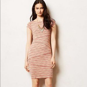 Anthropologie Bailey 44 Sorrel Bandage Dress